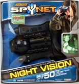 Real Tech Spy Net Infrared Stealth Night Vision Binoculars - See Up to 50 Feet In Total Darkness