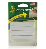Removable Reusable Non-Toxic Poster Putty (White) [Office Product]