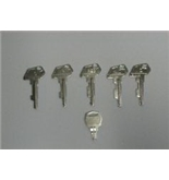 Replacement keys for all SAM4s / Samsung cash registers