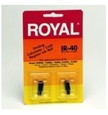 Royal Electronic Time Clock Ink Roll, 2 per pack, 2/PK