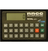 Royal LD5 Mini Calculator (for checkbooks or folios)