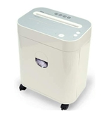Royal PX1000MX 10-Sheet CD/Floppy Cross Cut Shredder with Pullout Basket - White