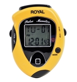 Royal SO30 Digital Pedometer with Pulse Monitor