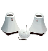 Royal WES2000 900 MHz Wireless Indoor and Outdoor Speakers