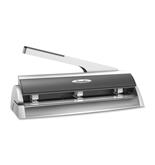 Swingline Optima Low Force Adjustable Hole Punch, 20 Sheet Capacity, Silver - A7074033