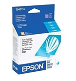 Genuine Epson T0422 Cyan Ink Cartridge T042220 Sealed Bag ; Stylus C82 CX5400