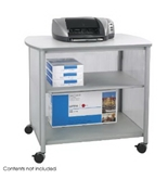 Safco Impromptu Deluxe Machine Stand With Doors