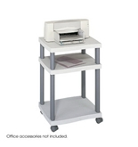 Safco Wave Desk Side Printer Stand