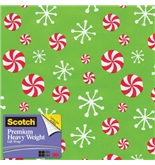Scotch Gift Wrap, Icon Mix Pattern, 25-Square Feet, 30-Inch x 10-Feet (AM-WPIM-12)