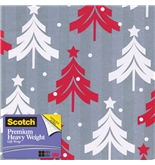 Scotch Gift Wrap, Santa-s Sack Pattern, 25-Square Feet, 30-Inch x 10-Feet (AM-WPTT-12)