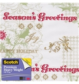Scotch Gift Wrap, Verbiage on Patterns Pattern, 25-Square Feet, 30-Inch x 10-Feet (AM-WPVOP-12)