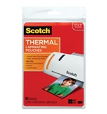 Scotch Thermal Laminating Pouches, 5.31 Inches x 7.28 Inches, 20 Pouches (TP5903-20)