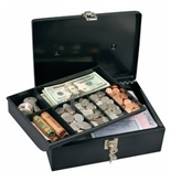 Sentry / Masterlock 7113D Cash Box with 7-Compartment Tray