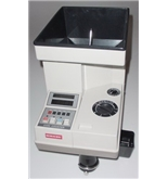 Semacon S-140 Table Top Electric Coin Counter with Batching/Packaging/Offsorter, Large Hopper