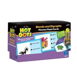 Set 4: Blends and Diagraphs (Hot Dots Phonics Flash Cards)