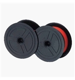 Sharp Electronic Calculator Ribbon Twin Spool Black & Red Ribbon - Fits all Twin Spool Models