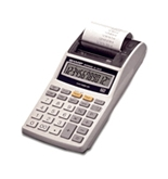 Sharp EL-1611P Handheld Printing Calculator