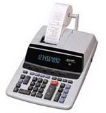 Sharp VX-1652H Desktop Calculator, 10-Digit , Two-Color Printing