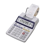 Sharp EL-1750P Portable 12-Digit 2-Color Serial Printing Calculator