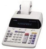 Sharp EL-2192R Printing Calculator
