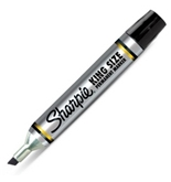 Sharpie King Size Permanent Marker, 1 Black Marker (15101PP)