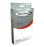 SiPix PS00057 Thermal Paper (100 Sheets, A6 Pocket Printer)