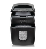 Stack-and-Shred™ 100M Hands Free Shredder, Micro-Cut, 100 Sheets, 1-2 Users