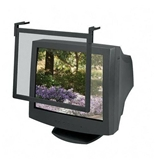 Standard Glare Filter Screen, For 16--17- Monitors, Black, Sold as 1 each
