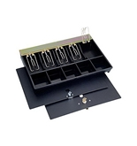SteelMaster by MMF IndustriesÉ® 2252862C04 - Cash Drawer Replacement Tray, Black