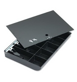 SteelMaster by MMF Industries 2252862C04 - Cash Drawer Replacement Tray, Black-MMF2252862C04