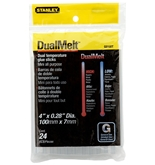 Stanley Gs10Dt Dual Temp Mini Glue Sticks, Pack of 24(Pack of 24)