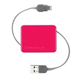 Scosche Wall Charger for iPhone 5 - Retail Packaging - pink
