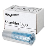 Swingline 6-8 Gallon Plastic Shredder Bags, For Small Office, Executive, 60X, 80X and 100X Shredders, 100/Pack (1765016A)