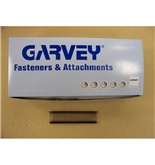 "Garvey TAGS-43006 1"" Black Standard Fasteners - 5000 Count"
