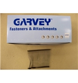 "Garvey TAGS-43008 3"" Black Standard Fasteners - 5000 Count"