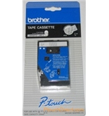 Brother TC14Z1 3/8 Inch White On Clear P-Touch Tape