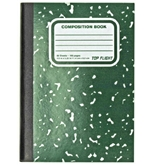 Top Flight Mini-Marble Composition Book, 80 Sheets, Narrow Rule, 4.5 x 3.25 Inches, 1 Book, Cover Color May Vary (41354)