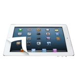Bubble Free Protective Screen for Apple iPad - White