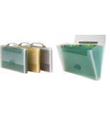 Expanding File Case - Blue