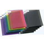 Poly Document Pocket w/Flap - Assorted Colord - 12/PK