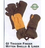 Trigger Finger Mittens with Liners