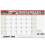 Turner NFL Tampa Bay Buccaneers 2010 Academic Desk Calender, 11 x 17 Inches (8230450)