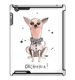 Uncommon LLC Deflector Hard Case for iPad 2/3/4, Izak Zenou Chichuahua (C0050-QU)