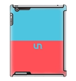 Uncommon LLC Deflector Hard Case for iPad 2/3/4, Robins Egg Coral Sorbet (C0010-LB)