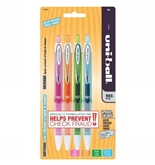 uni-ball 207 Retractable Medium Point Gel Pens, 4 Colored Ink Pens (1739928)