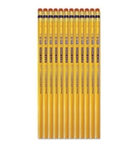 USA Gold #2 Pencils, Cedar, Yellow, Dozen - 14846AA48