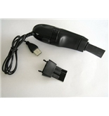 USB Vacuum Cleaner/hoover for Laptop PC Keyboard- black