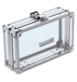Vaultz Clear Acrylic Locking Pencil Box (VZ00098)