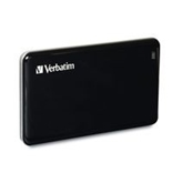 Verbatim 256GB Store'n' Go External SSD, USB 3.0 - Black, Minimum Qty. 2 -47623