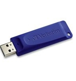 Verbatim 32GB USB Flash Drive - Blue,Minimum Qty. 4 -97408